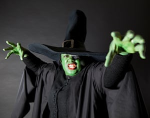Children's Laureate Malorie Blackman as The Wicked Witch of the West, from The Wonderful Wizard of Oz by L Frank Baum.