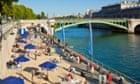 'Paris Plage' by the River Seine