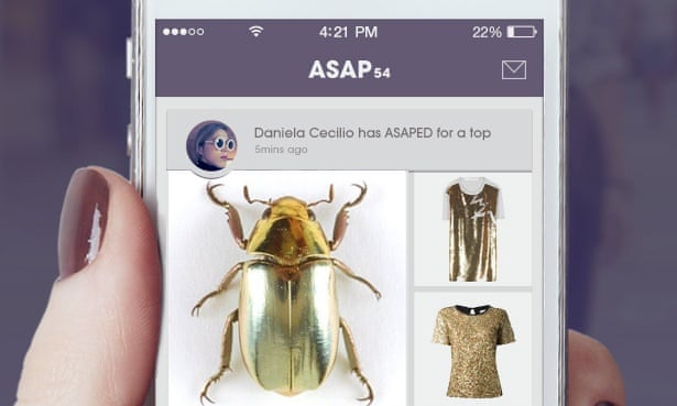 New app Asap54 is 'Shazam of shopping' | Technology | The Guardian