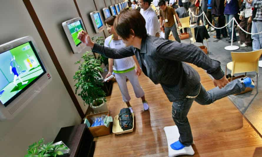 Nintendo launches 'games for health' strategy | Nintendo | The Guardian