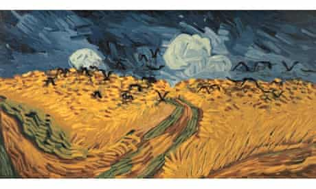 Vincent van Gogh's Wheat Field with Crows
