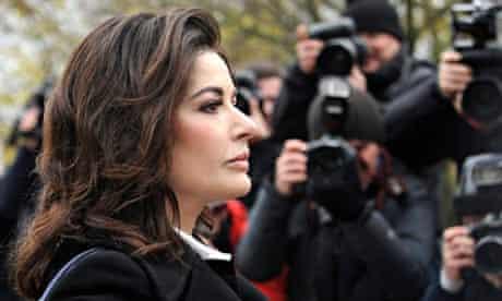 Assistants of tv chef Nigella Lawson fraud trial.
