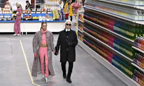 Chanel supermarket show