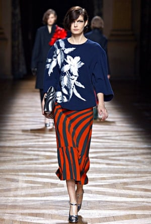 Dries Van Noten, a/w14, Paris Fashion Week