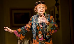 Angela Lansbury as Madame Arcati in Blithe Spirit in New York in 2009