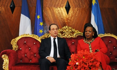 Hollande and Samba-Panza