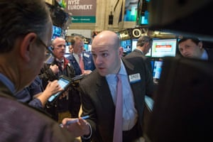 The New York Stock Exchange today.