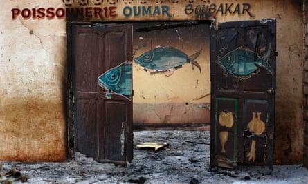 Muslim shop looted in CAR