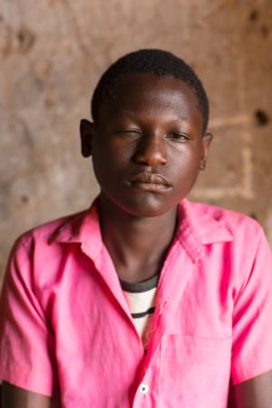 """Shafiq Isabirye said: """"I have problems with my eyes so I come to school so I can get something from education."""""""