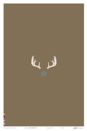 True Detective antlers