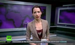 Abby Martin, Russia Today presenter