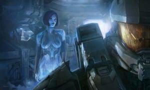 Cortana from Halo