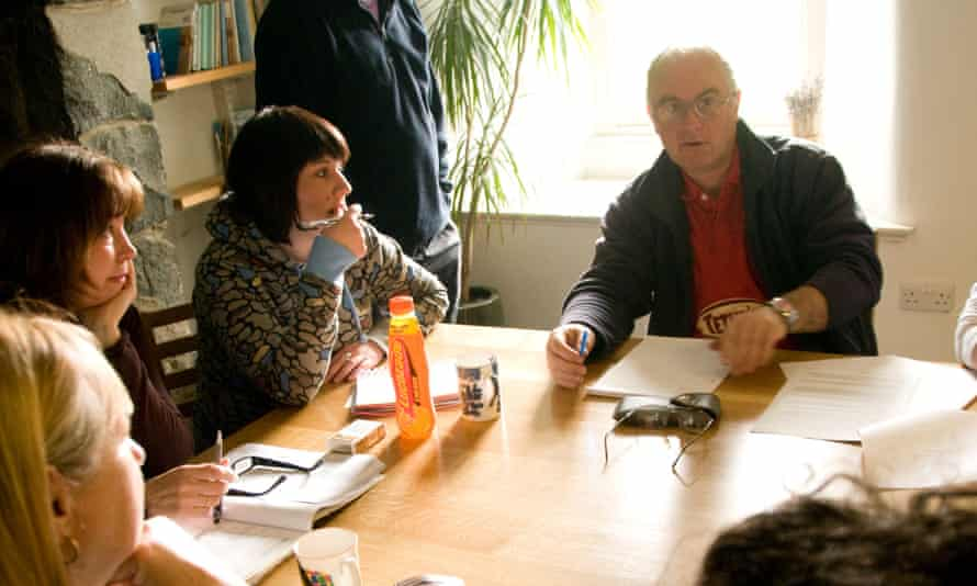 Prose and cons … a creative writing workshop at the Ty Newydd National Writers' Centre of Wales, Criccieth.