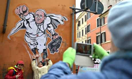 Pope Francis Graffiti