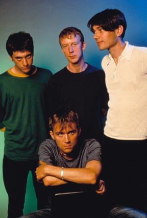 Blur is Graham Coxon, Dave Rowntree, Alex James and Damon Albarn