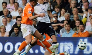 Charlie Adam's tackle that ended Gareth Bale's 2010/2011 season.