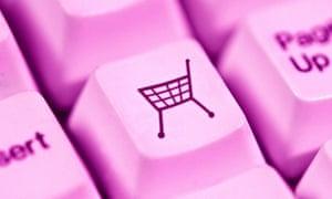 Computer keyboard Online home internet shopping