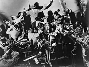 Duke Ellington and his orchestra - a picture from the past