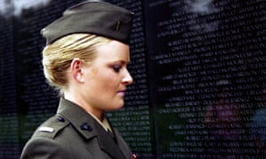 Occupational disease … US Marine and rape victim Lieutenant Elle Helmer, in The Invisible War