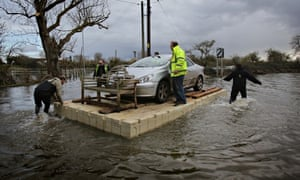 Flooding Continues To Affect The Somerset Levels