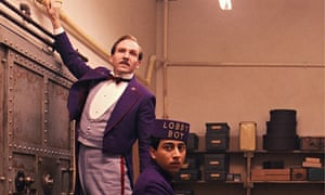 Ralph Fiennes, left, and Tony Revolori in The Grand Budapest Hotel