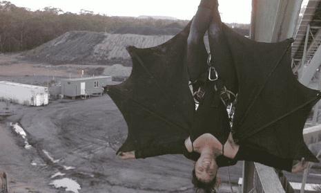 Bat protester