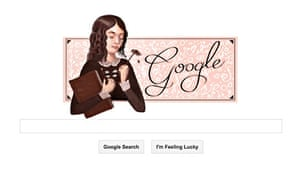 Google Doodle Elizabeth Barrett Browning