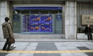 Stocks in Tokyo