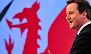 David Cameron addresses Conservative spring forum in Cardiff