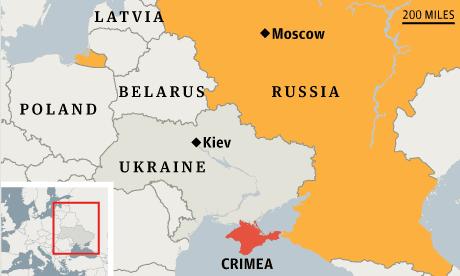 Ukraine And Russia Map.Ukraine Crisis Crimea Now Part Of Russia Local Parliament Declares