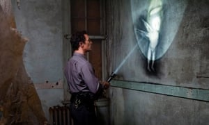 true detective Graffiti in the abandoned Tuttle school