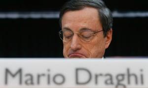 European Central Bank (ECB) President Mario Draghi.