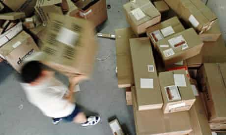 parcel sorting