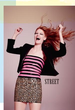 Key looks: street