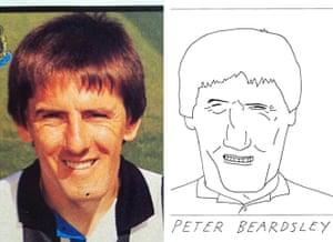 Beautiful Games.: Peter Beardsley