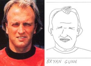 Beautiful Games.: Bryan Gunn