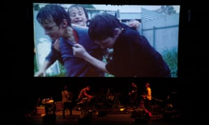 Snowtown Live at Adelaide Town Hall, Thursday 6 March. Photograph by Alicia Canter for the Guardian