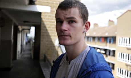 Frankie in the BBC3 programme Growing Up Poor