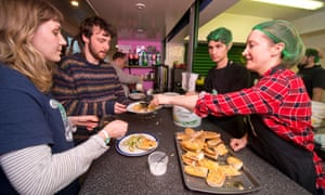Live Better: Amy Fleming lends a hand at the Bristol FoodCycle Hub.