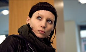 Rooney Maraas as Lisbeth Salander in The Girl With The Dragon Tattoo