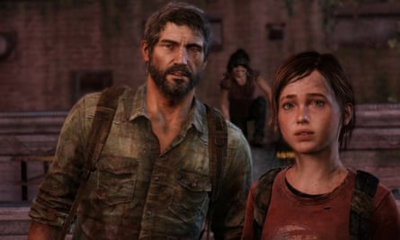 Joel and Ellie from The Last of Us.