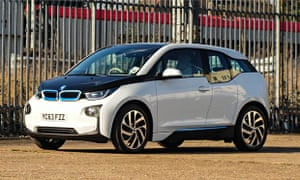 On the road: BMW i3