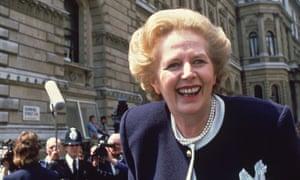 Margaret Thatcher, former prime minister