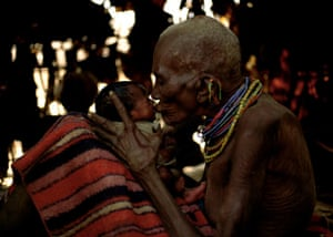 Photographing Africa: grandma and baby