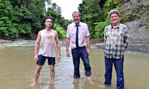 Richard Hammond, Jeremy Clarkson, James May in Top Gear