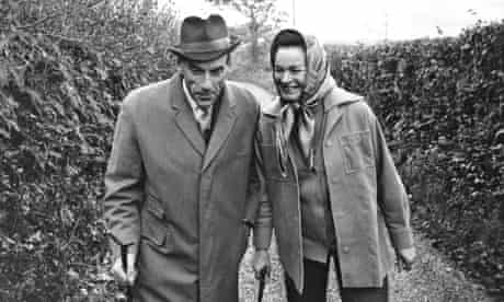 Jeremy And Marion Thorpe In The Country Lane At Their Home In Cobbaton