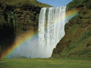 Iceland films: Skógafoss