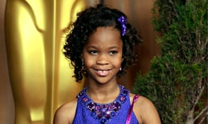 Nine year-old Quvenzhané Wallis, who will play the lead in Annie.