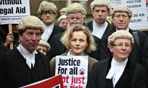 Lawyers Walk Out Over Legal Aid Cuts