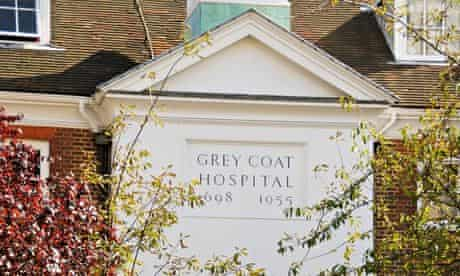 Grey Coat Hospital girls' school, a Church of England comprehensive in central London